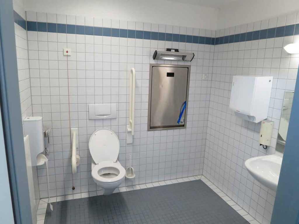 Toilettenstuhl Altenpflege Krankenpflege Barrierefreiheit
